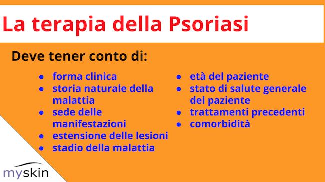 Terapia della Psoriasi